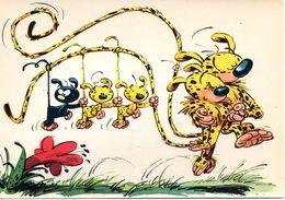 Vie Et Moeurs Des Marsupilamis - Les Personnages Du Journal De Spirou - Carte 20-6 - Années 70 - Cómics