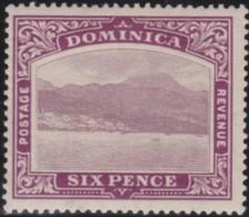 Dominica     .    SG        .   52     .      *   .    Neuf Avec Charnière    .   /    .  Mint-hinged - Dominique (...-1978)