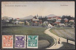 Bürgstein Bei Haida 1924 Sommerfrische Nordböhmen Sloup V ÄŒechách - Sudeten