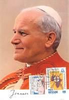 VATICAN - 12 Diff MC With POPE JOHN PAUL II /ak1015 - Maximumkarten (MC)