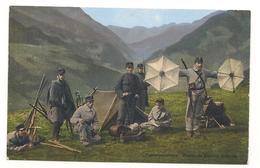 Militaires -  Guerre 14 /18 -  Suisse - Festungspioniere - Station De Signaux Optiques  - CPA ° - Suisse