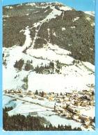 Saint-Pierre De Chartreuse-Isère-Vue Du Village Sous La Neige Et Pistes De Ski-cachet De St.Pierre De Chartreuse 1981 - Saint-Laurent-du-Pont