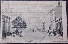 BELGIQUE BELGIE Cpa Postcard - MOL MOLL - 1904 Statiestraat - Rue De La Gare - Mol