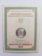 FRANCE Carnet Croix Rouge 1956 NEUF ** Y&T N°2005 - Taches De Rouille - Red Cross