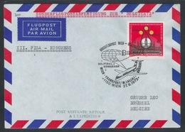 AUA Sonderflug Zur BELGICA72 27.6.1972 Wien-Brüssel ANK 300 - AUA-Erstflüge