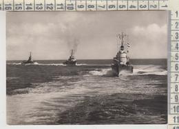 NAVE DA GUERRA BARCHE SHIP TORPEDINIERE IN NAVIGAZIONE NO VG - Guerre