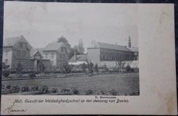 BELGIQUE BELGIE Cpa Postcard - MOL MOLL - 1903 Gezicht Der Weldadigheidschool Op Den Streenweg Van Baelen - Mol