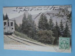 """LES AVANTS -- Chemin De Fer Des Avants - Cpa """"précurseur"""" 1905 - Treni"""