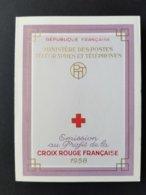 FRANCE Carnet Croix Rouge 1958 NEUF ** Y&T N°2007 - Red Cross