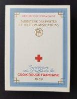 FRANCE Carnet Croix Rouge 1959 NEUF ** Y&T N°2008 - 1 Infime Point De Rouille - Voir Scan - Croix Rouge