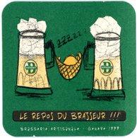 Suisse. Schweiz. Switserland. Les Brasseurs. Brasserie Artisanale - Genève 1999. Le Repos Du Brasseur! Hamac. - Sous-bocks
