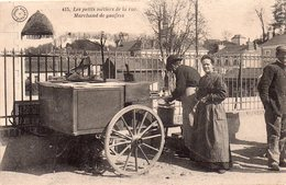 CPA - Les Petits Métiers De La Rue - MARCHAND De GAUFFRES. - Tours