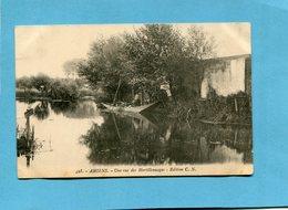 AMIENS-vue Des Hortillonnages-barque Chargée --a Voyagé En 1910-édition C N - Amiens