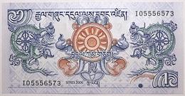 Bhoutan - 1 Ngultrum - 2006 - PICK 27a - NEUF - Bhutan