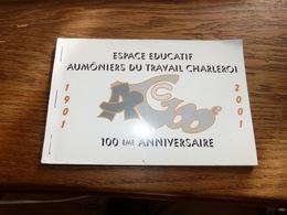 Carnet De 10 Cartes Postales Aumôniers Du Travail CHarleroi 1901-2001 - Charleroi