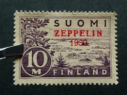 Deutsche Reich Zeppelin Nach Finnland MNH Postfrisch - Nuovi