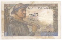 10 FRANCS MINEUR 1947 H157 - 10 F 1941-1949 ''Mineur''