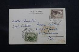 IRAQ - Affranchissement Plaisant De Bagdad Sur Carte Postale ( Minaret ) Pour Paris En 1928 - L 58665 - Iraq