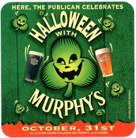 France. Here, The Publican Celebrates Halloween With Murphy's. October, 31st. RCS Nanterre. Ici, Le Patron Célèbre ... - Sous-bocks