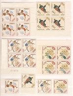 """(Fb).Monaco.1964.""""Giochi Olimpici Di Tokyo"""".Serie Singola E In Quartine (25-20) - Neufs"""
