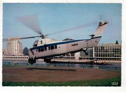 LIEGE - LUIK - Palais Des Congrès Et L'Héliport. Hélicoptère Sabena. - Luik