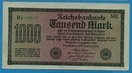 DEUTSCHES REICH 1000 Mark Code MK15.09.1922# Ha 889850 P# 76h - [ 3] 1918-1933 : Weimar Republic