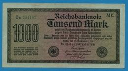 DEUTSCHES REICH 1000 Mark Code MK15.09.1922# Oa 254197 P# 76h - [ 3] 1918-1933 : Weimar Republic