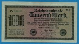 DEUTSCHES REICH 1000 Mark Code MK15.09.1922  # Pa 036458 P# 76h - [ 3] 1918-1933 : Weimar Republic