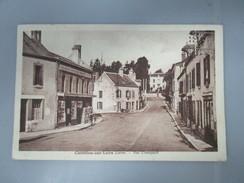 CPA 45 CHATILLON SUR LOIRE RUE CHAMPAULT - Chatillon Sur Loire