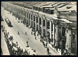 Leningrad_6, St.Petersburg, Um 1930, Gostiny Dwor An Der Strasse D. 3. Juli - Russie