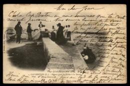 40 - Cap Breton Saint Vincent De Tyrosse Départ Pour La Peche à La Senne #463 - Saint Vincent De Tyrosse