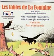 """Livre Audio - Les Fables De La Fontaine - Visuel """"Le Corbeau Et Le Renard, Fromage - CDs"""