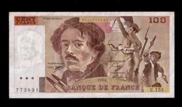 FRANCIA 100 FRANCS 1990 (W42) - 100 F 1978-1995 ''Delacroix''