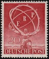 ✔️ West Berlin 1950 - ERP Marshall Plan - Mi. 71 ** MNH - €100 - Unused Stamps