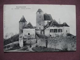 CPA 03 CINDRE  Chateau De Poifou ANIMEE - France