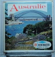VIEW MASTER  :   AUSTRALIE  B 299 :  POCHETTE DE 3 DISQUES - Visionneuses Stéréoscopiques