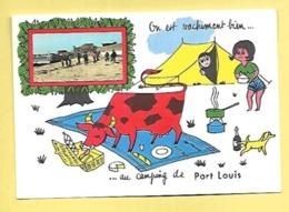 CP DEPT 56 PORT LOUIS  ON EST VACHEMENT BIEN AU CAMPING DE PORT LOUIS - Port Louis