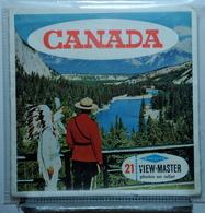 VIEW MASTER  :   CANADA  A 099 :  POCHETTE DE 3 DISQUES - Visionneuses Stéréoscopiques