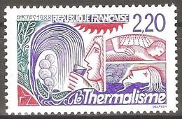 France - 1988 - Thermalisme - YT 2556 Neuf Sans Charnière - MNH - France