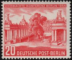 ✔️ West Berlin 1954 - Viermächte Konferenz  - Mi. 116 ** MNH - €10 - Unused Stamps