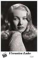 VERONICA LAKE (9) - Film Star Pin Up PHOTO POSTCARD - Pandora Box Edition Year 2007 - Artisti