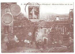 Mazamet Village D' Hautpoul Maisons Baties Sur Le Roc 18e Bourse Aux Monnaies Et Cartes Postales 24/09/2000 - Mazamet