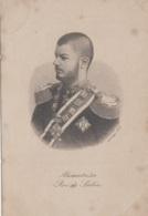 Familles Royales - Roi De Serbie - Alexandre 1er - Médailles - Portrait Eau-Forte  A. Et Th. Weger Leipzig - Königshäuser