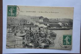 LYON-VAISE-la Gare D'eau-les Remorqueurs--(attention Mauvais Etat-decollement ) - Autres