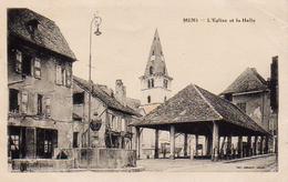 S16-023 Mens - L'Eglise Et La Halle - Mens