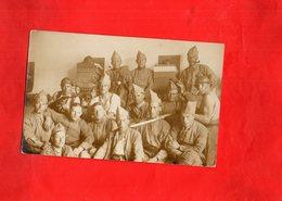 G1804 - PHOTO CARTE - Regiments