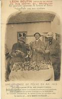Bruxelles Léon Seutin Articles De Pêche Rue Grétry,52 Une Journée De Pêche En Mai 1913 - Bruxelles-ville