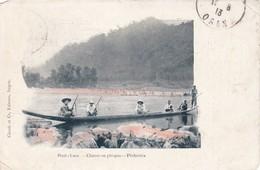 HAUT-LAOS - Chasse En Pirogue - Pêcheries - Laos