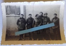 1940 équipage Chars De Combats 34 BCC Renault R35 Hotchkiss H39 Tank Blindés Ww2 39-40 2WK  Photo - War, Military