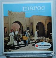 VIEW MASTER : MAROC  C 719 :  POCHETTE DE 3 DISQUES - Visionneuses Stéréoscopiques